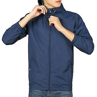 Allthemen Miesten rento takki kevyt Sportswear takki syksy talvi Navy