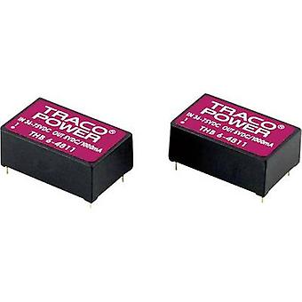 TracoPower THB 6-4822 DC/DC-konverter (print) 48 V DC 12 V DC, -12 V DC 250 mA 6 W No. af udgange: 2 x