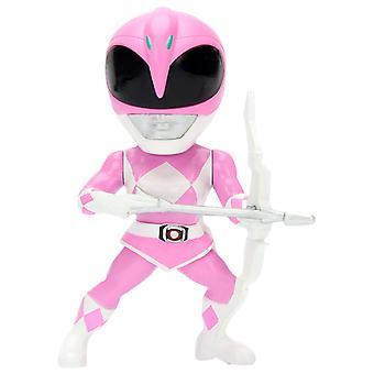 """Power Rangers Pink Ranger 4"""" Metals"""