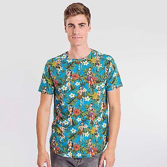 T-shirt verde Hawaian