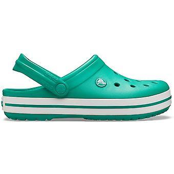 Crocs Crocband Chaussure Deep Green/White