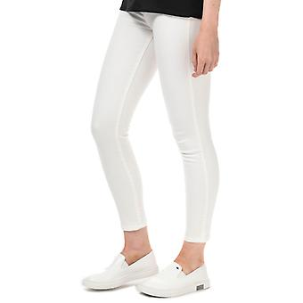 Donne 's Armani Exchange J10 Super Skinny Jeans cropped in bianco