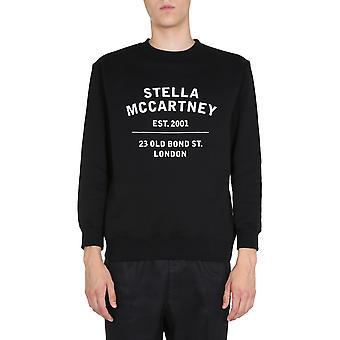 Stella Mccartney 601847smp831000 Hombres's sudadera de algodón negro