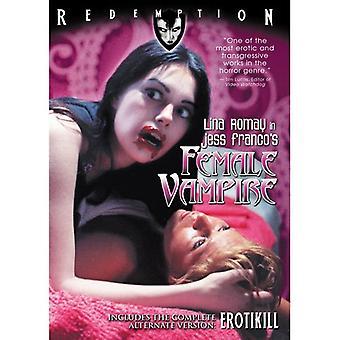 Female Vampire [DVD] USA import