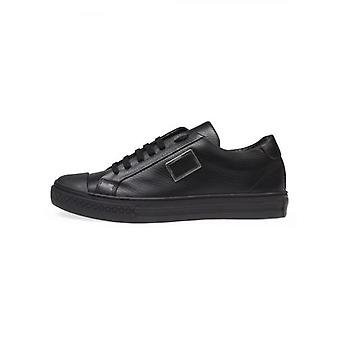 Antony Morato Black Leather Sneaker