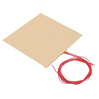 Silicone Heated Bed Heating Pad - Thermistor for 3D Printer Parts Electric Heating Pads