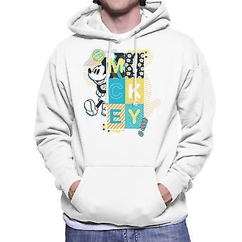 Disney Mickey Mouse Oh Boy Pop Art Männer's Kapuzen Sweatshirt
