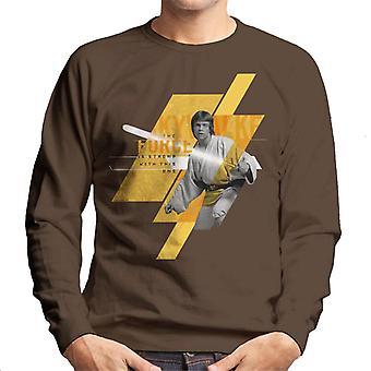 Star Wars Luke Skywalker The Force Is Strong Men's Sweatshirt
