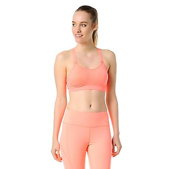 Jerf Womens Utica Coral Sports Bra