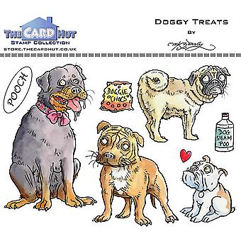 The Card Hut Doggy Treats Clear Stamps