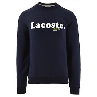 Lacoste ja krokotiili merkkituotteiden Fleece Collegepaita