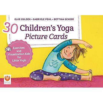 30 Childrens Yoga Picture Cards by Gulden & Elke