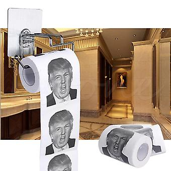 Donald Trump Humour Toilet Paper - Roll Novelty Gag
