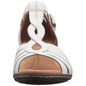 Cobb Hill Womens Abbott curvy t Leather Open Toe Casual Strappy Sandals