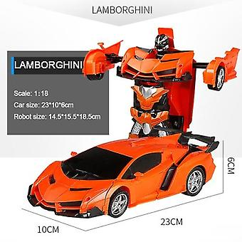 Rc Car Transformation Robots Sports Vehicle Model Robots - Cool Deformation Car