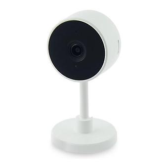 Caméra IP Smart Home 2 MP 130o 128 Go WiFi White