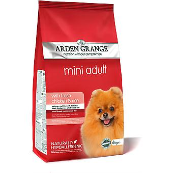 Arden Grange Adult MINI Dog - Chicken & Rice - 6kg