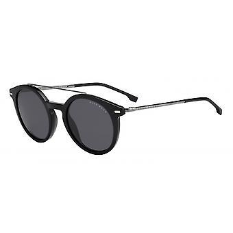Okulary przeciwsłoneczne Mężczyźni 0929/S807/IR Męskie czarne/szare