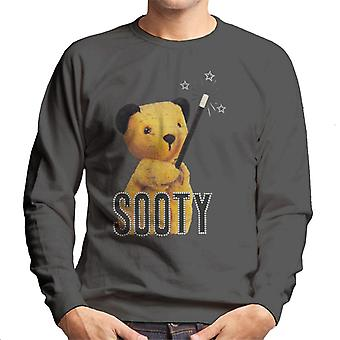 Sooty Retro Magic Wand Men's Sweatshirt