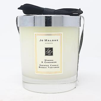 Jo Malone Mimosa & Cardamom Scented Candle  7.0oz/ New With Brown Box