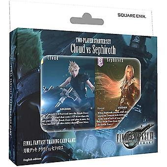 TCG Final Fantasy 7 Remake 2-player Starter Set Cloud vs Sephiroth (Pack van 6)