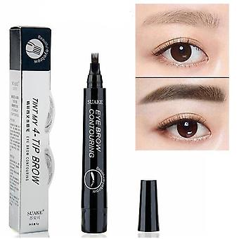 Microblading Wenkbrauw Pen Waterproof Fork Tip-long Lasting Pencil
