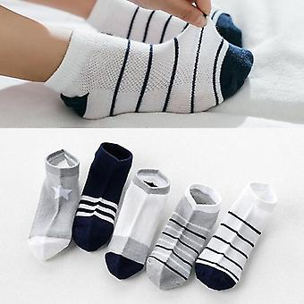 Children Sock Breathable Sports Unisex Cotton Stripe