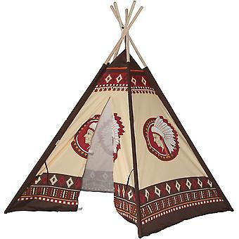 Play tent Wigwam 106x106x150 - Indiano - Tenda infantil