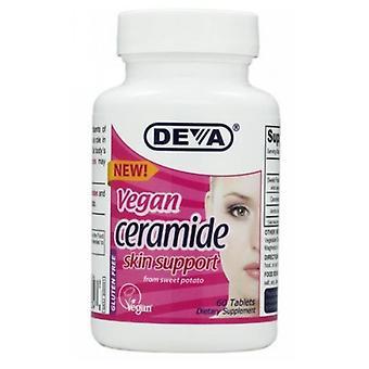 Deva Vegan Vitamins Vegan Ceramide Skin Support, 60 TABS