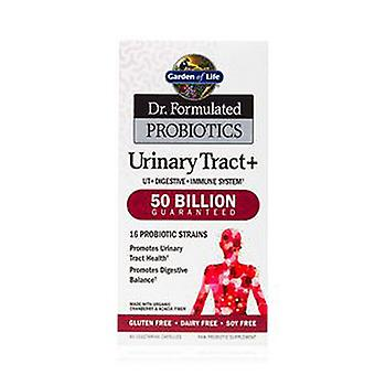Garden of Life Dr. Formulated PROBIOTICS Urinary Tract+, 60 Capsules