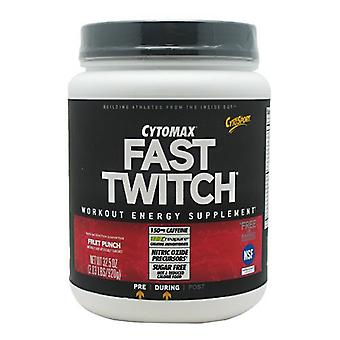 Cytosport FAST TWITCH, Fruit Punch 20 Servings