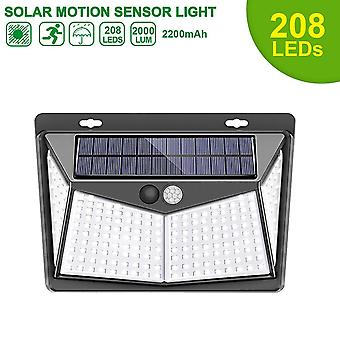Led Solar Motion Sensor Lights, Ip65 Outdoor Street Security Wall Lamp