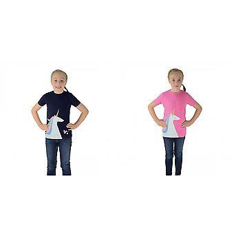 HyFASHION Childrens/Kids Unicorn T-Shirt