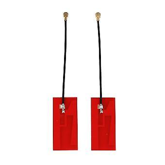 2pcs Red Internal Antenna High Gain IPEX1 32x14 mm Wire Length 6cm