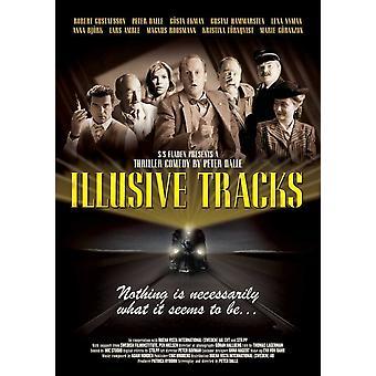 Illusive Tracks Movie Poster drucken (27 x 40)