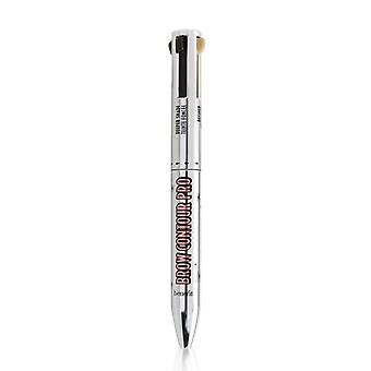 Brow Contour Pro 4 In 1 Defining & Highlighting Brow Pencil - # Medium (brown) - 4x0.1g/0.003oz