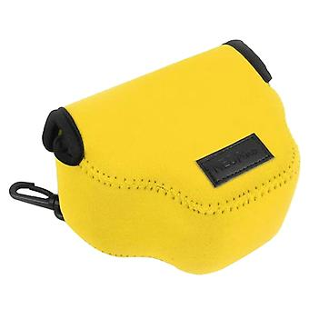 NEOpine Neoprene Shockproof Soft Case Bag with Hook for Canon SX510 Camera(Yellow)