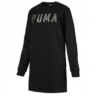 Puma Atletik Kazak Elbise Kadınlar Uzun Kollu Grafik Sweatshirt 851868 01