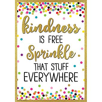 Kindness Is Free Sprinkle That Stuff Everywhere Affiche positive