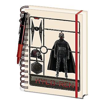 Star Wars: The Rise of Skywalker Kylo Ren A5 Wirebound Notebook Set