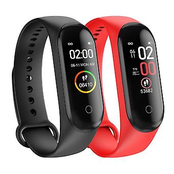 Blood Pressure Heart Rates Fitness Tracker M4 Smart Watch, Bracelet