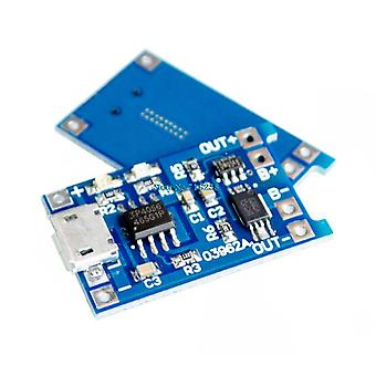 5v Micro Usb 1a 18650 Lithium Battery Charging Board With Protection Charger