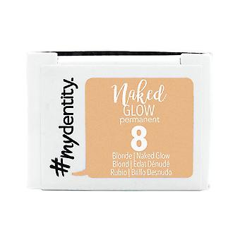 #mydentity Naked Glow Permanent Hair Colour - 8 Blonde