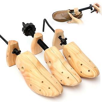 Wooden Shoes Tree Shaper Rack, Adjustable Flats Pumps Boots Expander/women