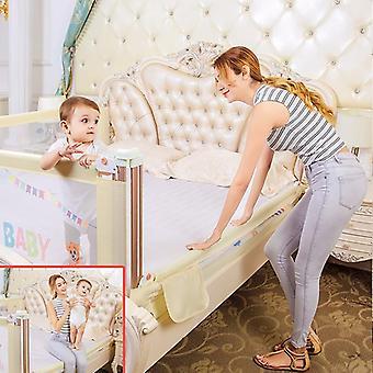 Baby säng stötfångare staket med säkerhetsgrind - barnbarriär