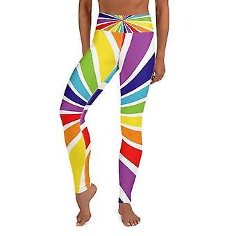 High Waist Colorful Yoga Leggings