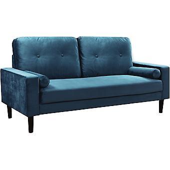 """Sofa """"Monika"""" - Canary Blue"""
