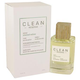 Limpiar Vetiver ahumado Eau De Parfum Spray de limpia 3.4 oz Eau De Parfum Spray