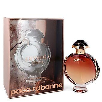 Olympea Onyx Eau De Parfum Spray Collector Edition por Paco Rabanne 2.7 oz Eau De Parfum Spray Collector Edition