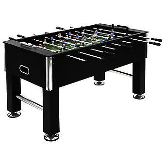 Tischfußball Stahl 60 Kg 140x74,5x87,5 Cm schwarz